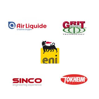 Collaboriamo con Ari Liquide, GRIT Service, Eni, Sinco, Tokheim
